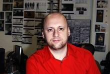 Quantic Dream head developer David Cage.