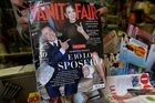 Vanity Fair has run an interview with Francesca Pascale. Photo / AP