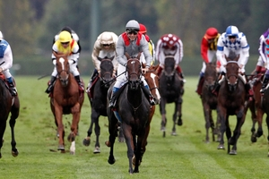 They don't come much easier than this. Treve careers away to win the Prix de l'Arc de Triomphe.Picture / AP