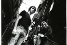 Krist Novoselic, Dave Grohl and Kurt Cobain of Nirvana.