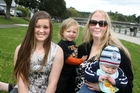 NO MATERNITY PAY: Morgan Holly with her children Nikaela, 12, Zac, 2, and Jaxon, 4 months. PHOTO/BEVAN CONLEY 081013WCBRCHOLL01