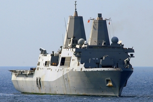 Terror suspect Abu Anas al-Libi is reported to be in military custody aboard the USS San Antonio.