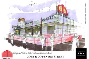 PLANNED: What the new Cobb & Co is expected to look like. PHOTO/SUPPLIED