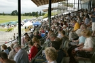 George Lawson loves seeing a full house at his beloved Tauranga Racecourse.