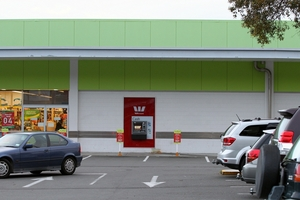 An elderly couple were robbed after withdrawing cash from this Westpac ATM on Tuesday morning.