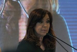 Argentina's President Cristina Kirchner. Photo / AFP