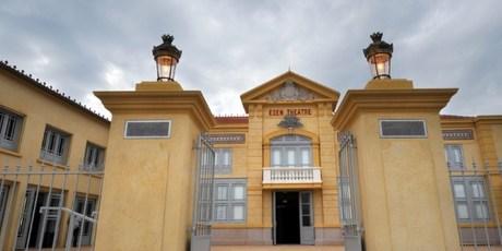 The entrance of the world's oldest cinema L'Eden in La Ciotat, southern France. Photo / AFP