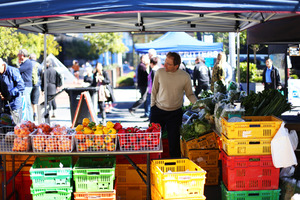 Check out seasonal produce at City Farmers' Markets.