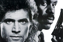 Mel Gibson and Danny Glover in Lethal Weapon. Photo / Creative Commons