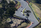 The Bathurst 1000 endurance race at the Mt Panorama circuit is the mecca of V8 racing.  Photo / Getty Images