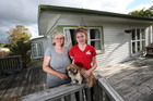 Bernice Ryan and her daughter Yvonne, 15, found it hard to find a rental property that  allowed pets. Photo / Joel Ford