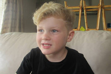 Jaxon Pryor, 4, drowned in a swimming pool at a relative's home in Hunua.