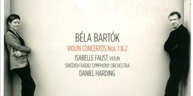 CD cover: Bela Bartok.