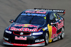 Jamie Whincup's #1 Red Bull Racing Australia Holden Commodore. Photo / Getty Images