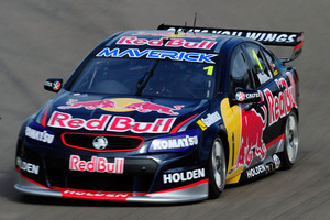 Jamie Whincup drives the #1 Red Bull Racing Australia Holden