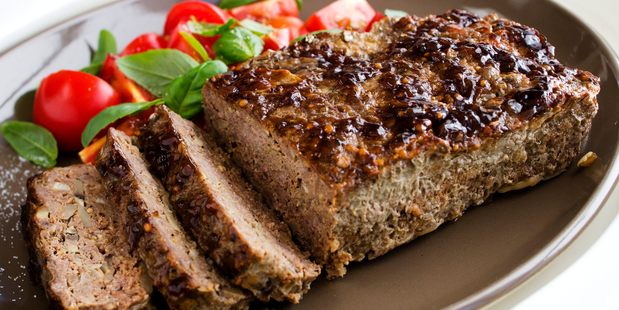 The perfect picnic ready meatloaf. Photo / Babiche Martens.