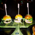 The mini Hamburgers at Mesa Lunga. Photo / Christine Cornege