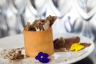 Tiramisu dessert at Baduzzi restaurant at Wynyard Quarter, Auckland. Photo / Richard Robinson