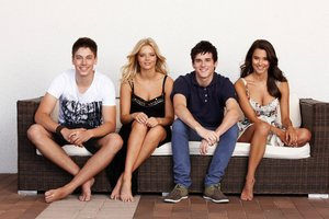 Cast members of Home and Away.