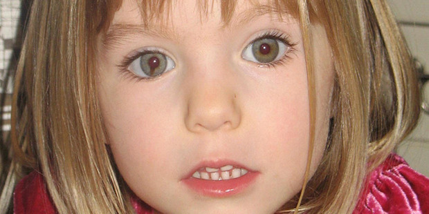 Madeleine McCann went missing in May 2007. Photo / AP