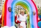 Miley Cyrus performs on NBC's Today show. Photo / AP