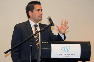 Tauranga MP Simon Bridges
