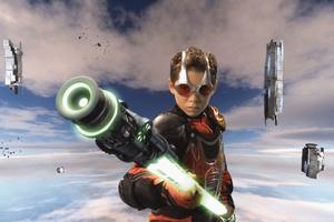 Ryan Pinkston in 'Spy Kids 3D: Game Over'.