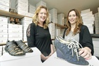 Designers Renee Hyland, left, and Rebecca Anderson, of Chaos & Harmony. Photo / Kelvin Teixeira