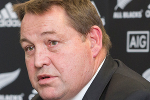 Coach Steve Hansen issued some public warnings about the black ice test for his men. Photo / Mark Mitchell