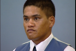 Teina Pora at his retrial in the High Court at Auckland in 2000.