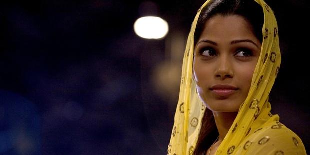 Freida Pinto as Latika in a scene from the film Slumdog Millionaire.