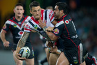 Sonny Bill Williams in action this year for the Sydney Roosters. Photo / Brett Phibbs