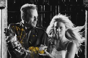 Bruce Willis and Jessica Alba in 'Sin City'.