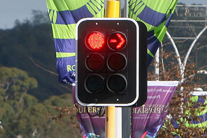 Hundreds of people are running red lights on a regular basis.