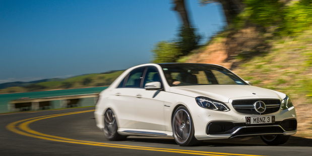 Mercedes-Benz  E63 S AMG. Photo / Ted Baghurst