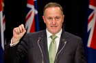 John Key has warned against a cut in copper-based broadband price.  Photo / Mark Mitchell