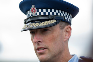 Counties Manukau west area commander Jason Hewett said the programme would help people in a community that had been hit hard by theft over the past few years. Photo / Sarah Ivey