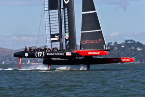 A lesson to be learned from the America's cup - losing is not a reason to give up.