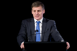 Finance Minister Bill English. Photo / Richard Robinson