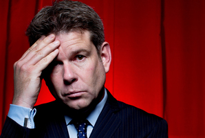John Campbell is engaged in a 'war of words' with Tauranga MP Simon Bridges.