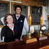 Ashley Huntington and wife Jane at the Farm Bar. Two Metre Tall Brewery. Photo / Christine Cornege