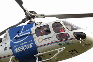 Lowe Corporation Rescue Helicopter service.