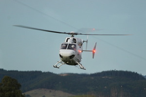 The Lowe Corporation Rescue Helicopter was on its way to the scene. File photo / Hawke's Bay Today
