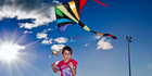 Get outside and fly a kite. Photo / Glenn Taylor