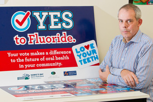 Dr Robin Whyman, from the Hawke's Bay district Health Board. Hastings voters voted to keep fluoride in the water supply.