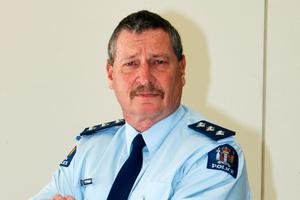 Whangarei/Kaipara area commander Inspector Paul Dimery