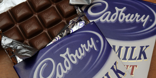 Cadbury wanted exclusive rights to use a distinctive shade of purple for its packaging.  Photo / Ross Setford