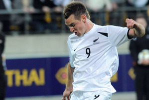 New Zealand Football have gone around in circles trying to organise one or two games for the All Whites. Photo / NZPA