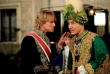 Owen Wilson and Jackie Chan in 'Shanghai Knights'.