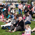 Parents and friends watch the skaters enjoy the new playground on a sunny Hawke's Bay Sunday. Photo / Glenn Taylor